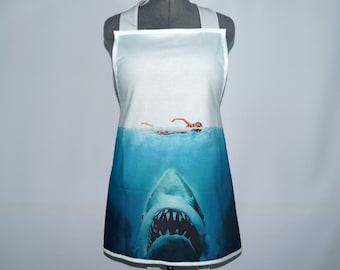 Beware of Sharks! apron