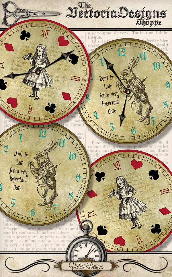 It's just a picture of Smart Alice in Wonderland Printable