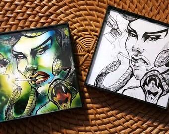 Framed Medusa Prints
