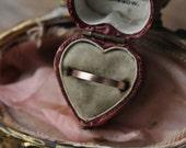 Rose Gold Band, Thin Rose Gold Wedding Band, 14k Rose Gold Ring, Thin Stacking Ring, Women's Wedding Band, Handmade Engagement Ring.