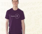 Raspberry Pi T-Shirt - Purple
