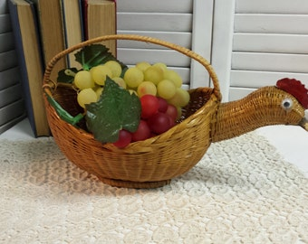Chicken Basket Decorative Basket