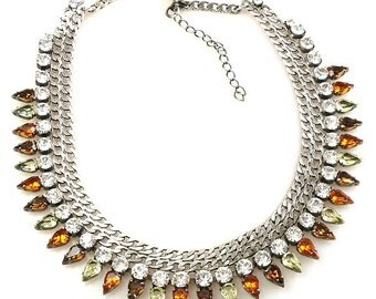 Luxury Masai Rhinestone Necklace