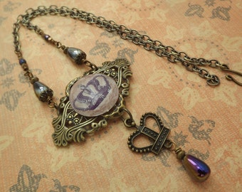Crown Royal Steampunk Victorian Necklace 18 Inches
