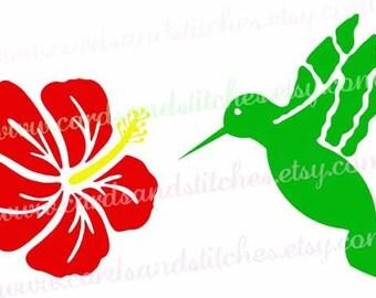 Hummingbird Stencil - Bird Stencil - Art Stencil - Craft Stencil - Stencil - Reusable Stencil - Great for Walls, Clothes, Wood, Fabric