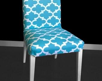 IKEA HENRIKSDAL Dining Chair Cover - Fynn Regatta Blue