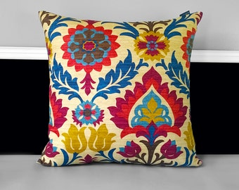 "Pillow Cover - Santa Maria Gem 18"" x 18"""