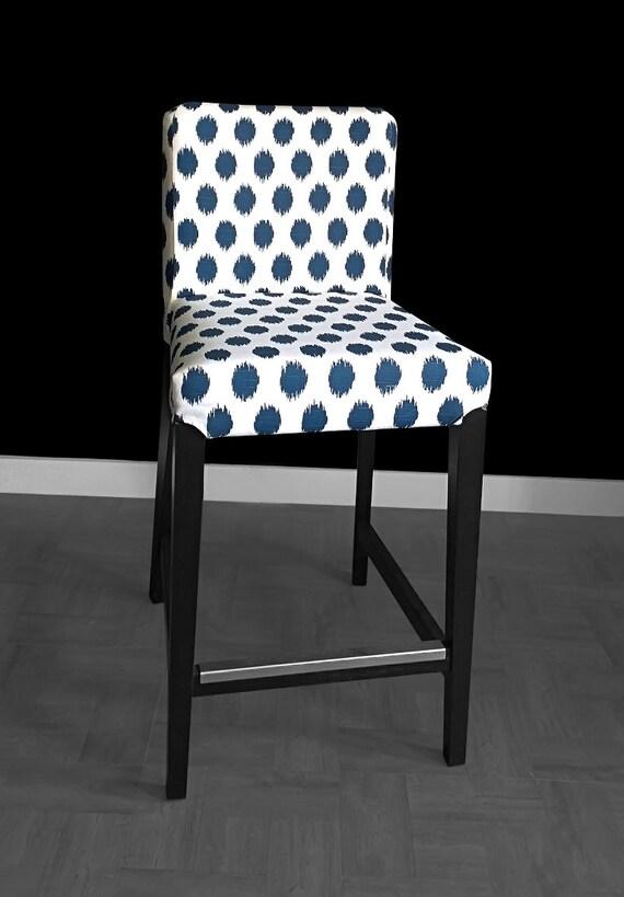 Blue Polka Dots IKEA HENRIKSDAL Chair Cover : il570xN1051494094lhw6 from www.etsy.com size 570 x 819 jpeg 59kB