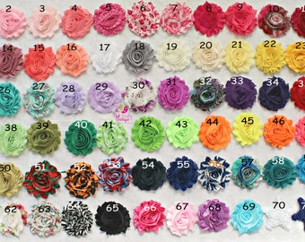 Baby Headband. You Pick 4 Shabby headbands. 72 Color Options. Baby Hair bows. Baby Hair Accessories. Infant Headbands. Baby Girl Headbands.