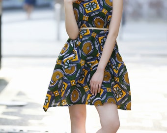 Ankara Apple dress by Gitas PORTAL
