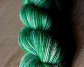 "Sock Yarn Single - 100% SW Merino - Holiday - ""Bubble Wrap Appreciation Day"""