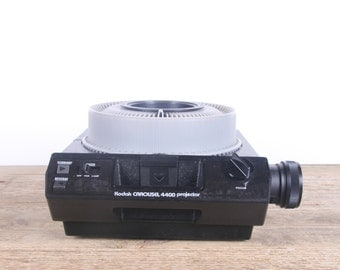 Slide Projector / Working Kodak Carousel 4400 35mm Slide Projector / Kodak Slide Projector in Box / Projector Lens / Antique Projectors