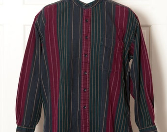 Vintage 90s Men's Button Shirt - VAN HEUSEN - M
