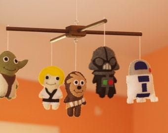 Baby Star Wars Felt PDF Pattern (5 characters)
