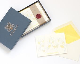 Joyeux Noël Letterpress Christmas Card Box Set