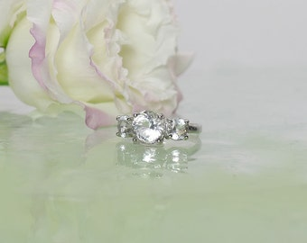 herkimer diamond rings amp other natural gemstone by greengem