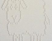 Sheep Baby Blanket Pattern - Crochet Pattern - Crochet Baby Blanket  - Baby Snuggle Blanket  - Car Seat or Stroller Blanket