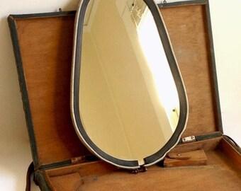 Vintage Mirror in Case
