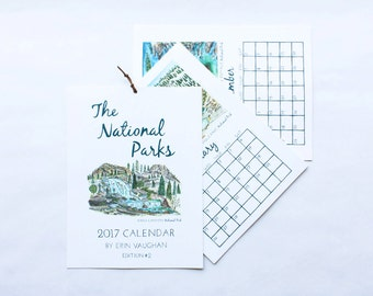 Edition #2 National Park 2017 Calendar