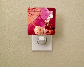 IN STOCK - Chinese Paper Parasols Night Light for Child's Room, Playroom, Home Decor