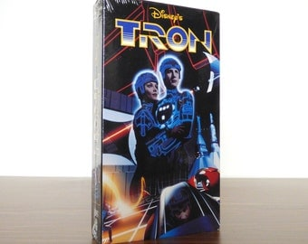 1990s Tron VHS Movie Disney Video Tape Sealed