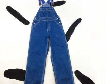 90s Tommy Hilfiger Logo Strap Denim Overalls / Size Small / Aaliyah / 90s Hip Hop / Athletic / Tommy Jeans / Vaporwave / Club Kid / Cyber /