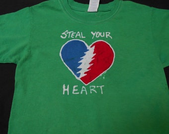Steal Your Heart Batik & Tie Dye X-Small Youth Shirt #004