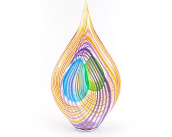 Hand Blown Art Glass Sculpture