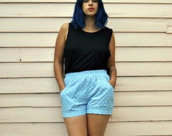 WornRaw Polka Dot Short Shorts