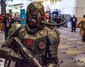 The Panzersöldner - Armored mercenary light up full costume - one of a kind and ready to ship