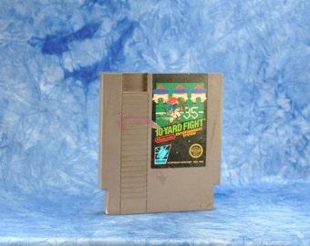 Vintage 10-Yard Fight (NES) By Nintendo 8 bit 1983 - Arcade Game - American Football - Head To Head - Sports - Offense - Defense - Coach