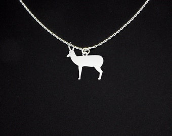 Antelope Necklace - Antelope Jewelry - Antelope Gift
