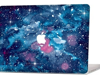 Watercolor Nebula MacBook Decal Macbook Stickers Macbook Skin Macbook Case Macbook Pro Cover Laptop Stickers Laptop Skin Laptop Decal Case
