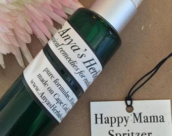 Aromatic Spritzer: Happy Mama Organic Aromatherapy Hormone Balancing Spray, Organic Spritzer, Female Hormone Balancer, Light Natural Perfume