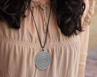 Coiled Serpent necklace #1