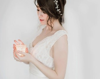 Bridal Headpiece, Hair Vine - Isolde
