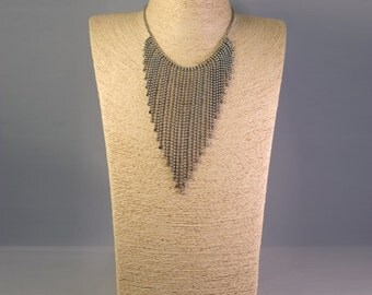 Vintage Stainless Steel Necklace