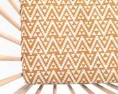 Crib Sheet Mustard Geo Tribal. Fitted Crib Sheet. Baby Bedding. Crib Bedding. Minky Crib Sheet. Crib Sheets. Mustard Crib Sheet.