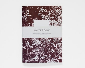 THE SOPHIA notebook A5 / blank notebook / abstract journal / composition notebook