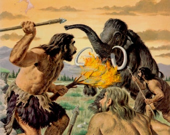 The How and Why Wonder Book of Primitive Man