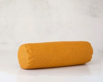 bolster pillow decorative bolster pillow cover mustard bolster case accent pillow sofa