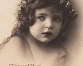 Edwardian Girl - New 4x6 Vintage Image Photo Print - CE050