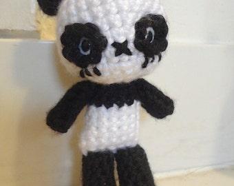 Amigurumi Crochet Panda Doll Pattern - Chibi Panda Bear Animal