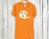 Tennessee Shirt. Tennessee Tri Star Shirt. Tri Star Shirt. Womens Shirt.