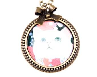 Necklace cat 2525C