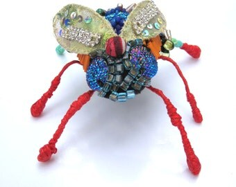 Bug Assemblage: Red fly