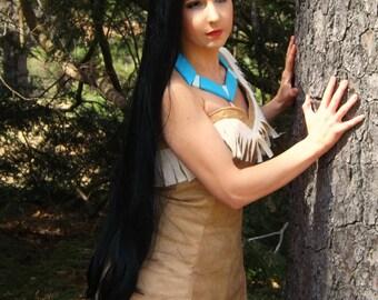 Couture Pocahontas Native Princess Wig