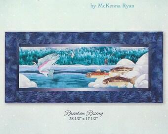"McKenna Ryan Pattern ""Rainbow Rising"" (Block 8) of Aurora Ridge Quilt DIY"