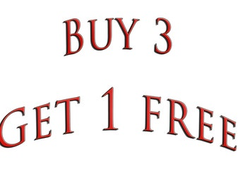 BUY 3 GET 4 PROMO- Do not purchase this listing
