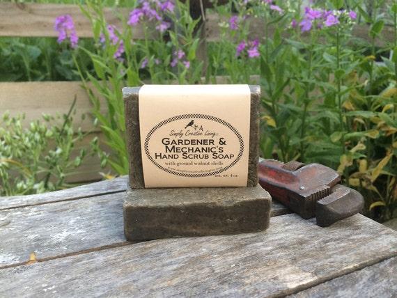 Gardeners & Mechanic's Hand Scrub Soap Bar